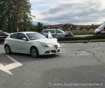 VALPERGA - Incidente stradale sulla 460, due automobilisti feriti - QC QuotidianoCanavese