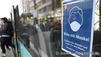 RMV-Fahrgäste halten sich überwiegend an Maskenpflicht - Süddeutsche Zeitung
