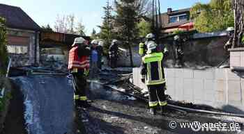 Sulzbach-Rosenberg: Erst brennt der Schuppen, dann die Garage - Onetz.de