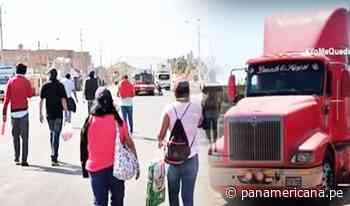 Huarmey: camionero es detenido por transportar a 50 caminantes en plena pandemia | Panamericana TV - Panamericana Televisión