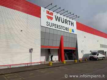 Riapre il Würth superstore a Stezzano - InfoImpianti