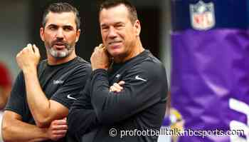 In his 34th NFL season, Gary Kubiak getting used to a new approach