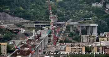 Construção da nova ponte de Genova vira símbolo de recuperação na Itália - Correio Braziliense