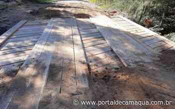 Prefeitura de Mariana Pimentel finaliza a reforma da Ponte Nova para José Evaristo/Linha Preta - Portal de Camaquã