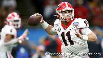 "Brandon Beane: Jake Fromm was ""sticking out"" on their board in round five"