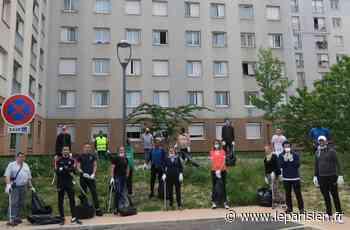 Bezons : la jeunesse montre l'exemple en nettoyant les abords d'une résidence HLM - Le Parisien