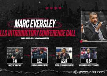 Marc Eversley introduced as General Manager