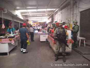 Mantienen autoridades Plan DN-III por Covid-19 en Puente de Ixtla - Unión de Morelos