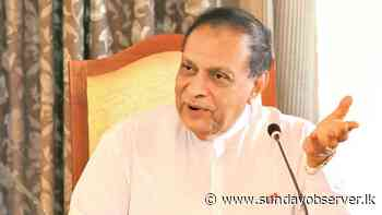 No intention to reconvene Parliament – Former Speaker Karu Jayasuriya - Sunday Observer