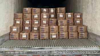 Em Guararema, polícia recupera carga de queijo roubada e avaliada em R$ 344... - Notícias de Mogi