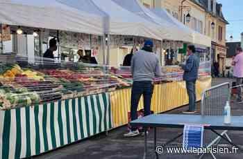 Yvelines : le marché de Saint-Germain-en-Laye sert de test à la réouverture - Le Parisien