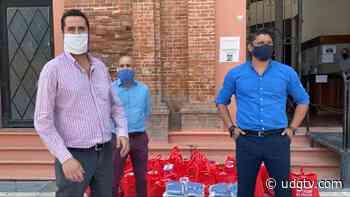 Oxxo donó 3 mil cubrebocas y 100 despensas a Chapala - UDG TV