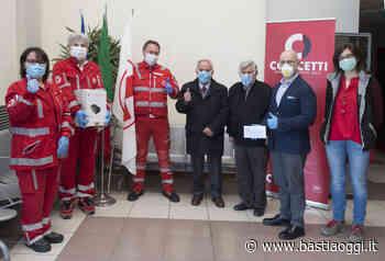 Concetti dona un sanificatore alla croce rossa di Bastia Umbra - Bastia Oggi