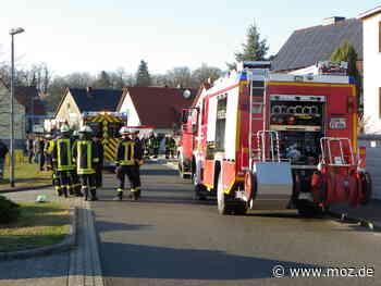 Feuerwehr: Explosion mit Verletzten bei Guben - Märkische Onlinezeitung