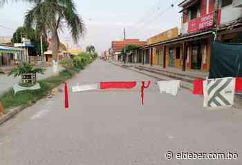 Pailón cierra sus calles tras registrar casos de Covid-19 - EL DEBER