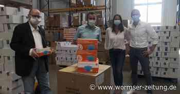 4000 Atemschutz-Masken für die VG Monsheim - Wormser Zeitung