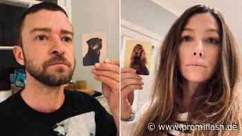 Justin Timberlake und Jessica finden ihre Hunde-Doppelgänger - Promiflash.de
