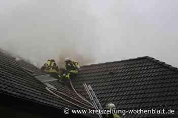 Dachstuhl zweimal in Flammen - Rosengarten - Kreiszeitung Wochenblatt