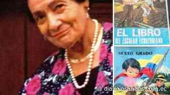 """Falleció la educadora Rogelia Carrillo de Landázuri, autora del libro """"Escolar Ecuatoriano"""" - Diario Los Andes"""