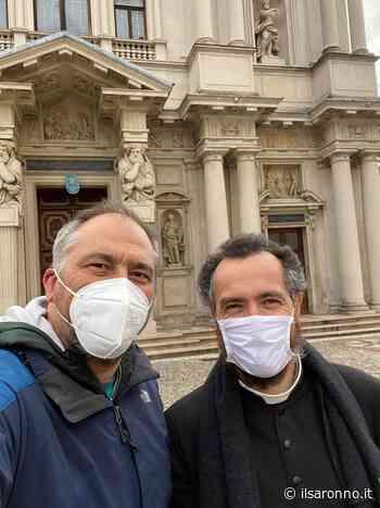 Rovellasca, il sindaco Zauli e don Natalino in pellegrinaggio al Santuario di Saronno - ilSaronno