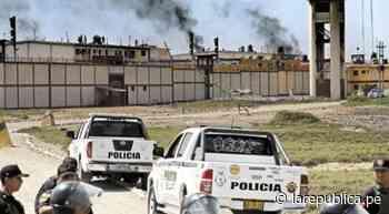 Chiclayo: reos se amotinan por cuarta vez en penal de Picsi - LaRepública.pe