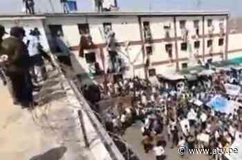 Chiclayo: Reportan dos internos fallecidos tras motín en Penal de Picsi - ATV.pe