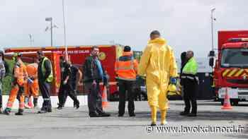 Libercourt : fuite d'acide sur un camion-citerne dans la zone des Botiaux - La Voix du Nord
