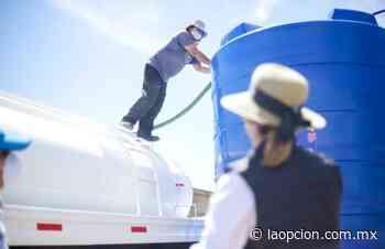 Entrega maru tinaco de 10 mil litros para la colonia san jorge - La Opcion