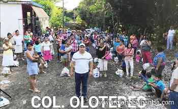Familias de Catemaco fueron beneficiadas con despensas - Diario Eyipantla