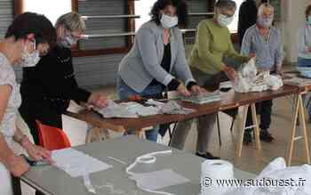 Monein : tous mobilisés pour la fabrication de masques - Sud Ouest