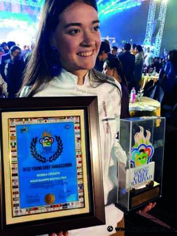 Santa Giustina in Colle: Giorgia la più giovane chef ambasciatrice nel mondo - La PiazzaWeb - La Piazza