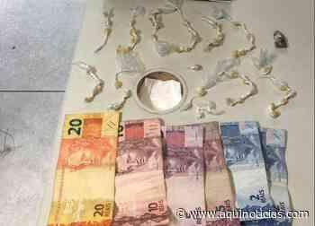 Mulher é presa com 50 pedras de crack em Mimoso do Sul; suspeita tentou esconder drogas na boca - Aqui Notíc - www.aquinoticias.com