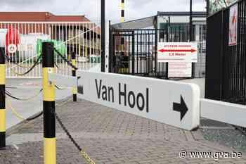 Bij Van Hool gaat maandag minder dan een derde van werknemers aan de slag - Gazet van Antwerpen