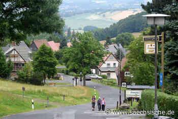 Erholungsort Waltersdorf - Urkunde ist da - Sächsische Zeitung