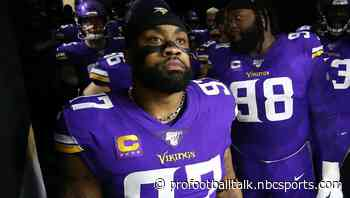 """Vikings will """"never say never"""" about an Everson Griffen reunion"""