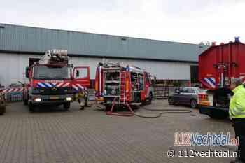 Brand in afzuiginstallatie van bedrijf in Slagharen - 112Vechtdal