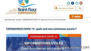 Saint-Flour Communauté organise les achats locaux en ligne - Bref Eco
