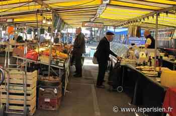 Des boutiques fermées mises à disposition des vendeurs du marché à Joinville - Le Parisien