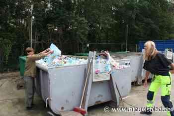 Meer dan helft inhoud restafvalzak blijkt recycleerbaar - Het Nieuwsblad