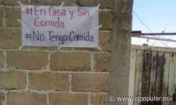En Texmelucan, Huejotzingo y Chiautzingo piden comida sin salir de casa - El Popular