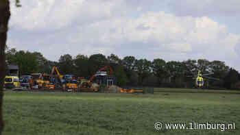 Man gewond na ongeval met tractor in Siebengewald - 1Limburg | Nieuws en sport uit Limburg