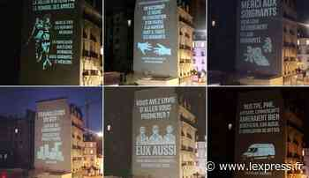 A Clichy, les pas si discrets messages politiques du M. Numérique de Marine Le Pen - L'Express