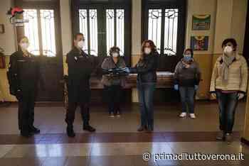 Carabinieri di Castagnaro consegnano computer portatili a Villabartolomea per le attività didattiche - Verona Settegiorni