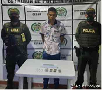 Capturado en Pelaya por posible comercio de droga - ElPilón.com.co