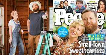 Home Town Couple Ben and Erin Napier's Unbelievable Journey to HGTV Stardom: 'We Never Expected This' - PEOPLE.com