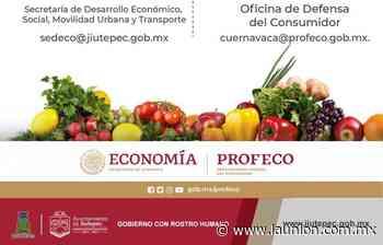 Suman esfuerzos Ayuntamiento de Jiutepec y Profeco para evitar alza injustificada de precios - Unión de Morelos