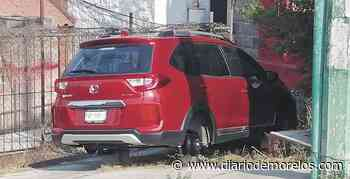 Aseguran un auto robado en Jiutepec - Diario de Morelos