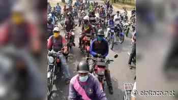 Motorizados de Santa Teresa del Tuy solicitan venta de gasolina - El Pitazo