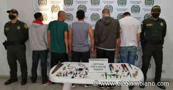 Autoridades recapturan a cinco presos fugados de cárcel de Abejorral - El Colombiano