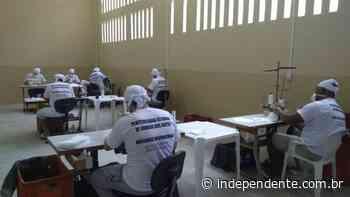 Apenados da Penitenciária de Arroio dos Ratos produzem 800 máscaras de proteção por dia - independente